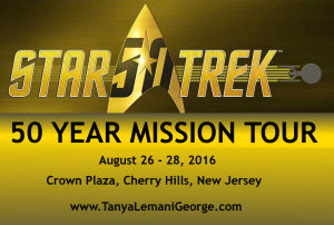 post - star trek 50 year mission tour Cherry Hills NJ
