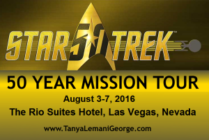post - star trek 50 year mission tour LAs Vegas Nevada