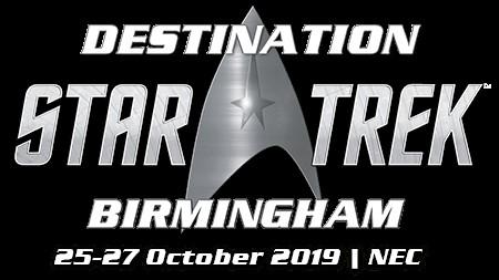 TANYA Startrek Destination 2019- Birmingham England logo